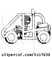Ink Thief Man Riding Sports Buggy Side View