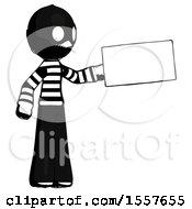 Ink Thief Man Holding Large Envelope
