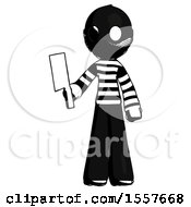 Ink Thief Man Holding Meat Cleaver