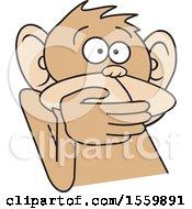 Poster, Art Print Of Speak No Evil Monkey