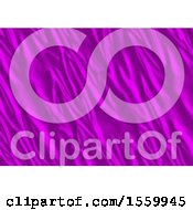 Clipart Of A Purple Silk Background Royalty Free Illustration