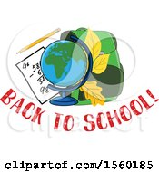 Back To School Design With A Globe