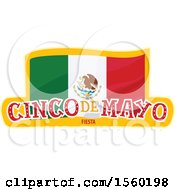 Poster, Art Print Of Cindo De Mayo Design With A Mexican Flag