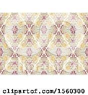 Poster, Art Print Of Damask Background