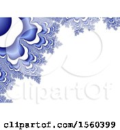 Frozen Fractal Background