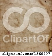 Clipart Of A Vintage Paper Background Royalty Free Illustration