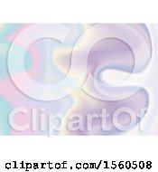 Clipart Of A Holographic Background Royalty Free Vector Illustration