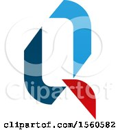 Clipart Of A Letter Q Logo Design Royalty Free Vector Illustration
