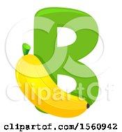 Letter B And Banana