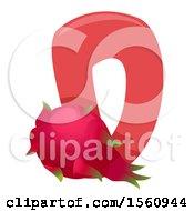 Letter D And Dragonfruit