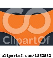 Dark Gray And Orange Background