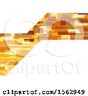 Golden And White Abstract Background