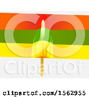 Clipart Of A Colorful Rocket Ice Pop Dessert Royalty Free Vector Illustration