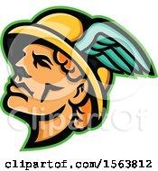 Hermes Mascot Head