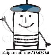 Happy Stick French Man