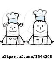 Happy Stick Chef Couple