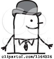 Poster, Art Print Of Happy Stick British Man