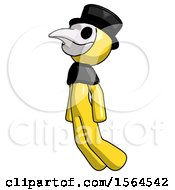 May 22nd, 2018: Yellow Plague Doctor Man Floating Through Air Left by Leo Blanchette