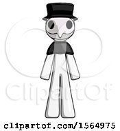 May 24th, 2018: White Plague Doctor Man Standing Facing Forward by Leo Blanchette