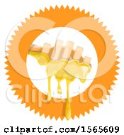 Clipart Of A Honey Dipper Royalty Free Vector Illustration