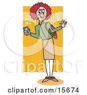 Preppy Redhead School Girl
