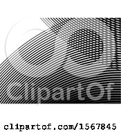 Clipart Of A Black And White Background Royalty Free Vector Illustration