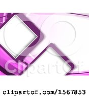 Clipart Of A Purple Background Royalty Free Vector Illustration
