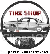 Car Repair Tire Shop Design