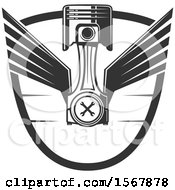 Winged Piston And Wings Shield Design