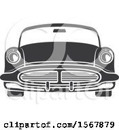 Clipart Of A Vintage Car Automotive Icon Royalty Free Vector Illustration
