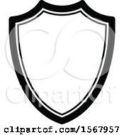 Black And White Shield Design
