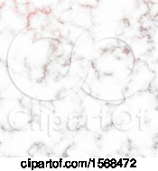Clipart Of A Rose Marble Background Royalty Free Vector Illustration