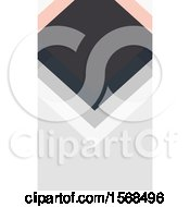 Clipart Of A Geometric Diamond Background Royalty Free Vector Illustration