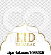 Poster, Art Print Of Eid Mubarak Design