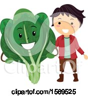Boy With A Bokchoy Character