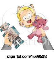 Poster, Art Print Of Baby Boy Reaching Up For Toys