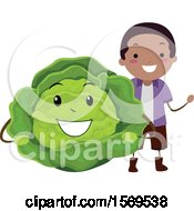 Boy With A Cabbage Character