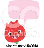 Poster, Art Print Of Red Flower Talking