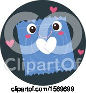 Clipart Of A Condom Character Royalty Free Vector Illustration
