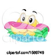 Paddle Boat Mascot Character