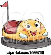 Bumper Car Mascot Character