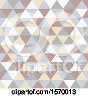 Scandinavian Styled Geometric Triangle Pattern
