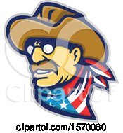 Clipart Of A Mascot Of Teddy Roosevelt Royalty Free Vector Illustration by patrimonio