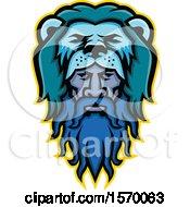 Mascot Of Hercules Wearing A Lion Pelt
