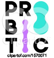 Clipart Of A Probiotic Design Royalty Free Vector Illustration