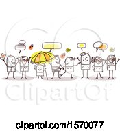Poster, Art Print Of Group Of People Celebrating Summer Time
