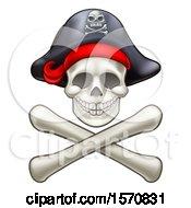 Poster, Art Print Of Pirate Skull And Cross Bones Jolly Roger