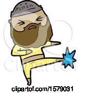 Cartoon Man With Beard