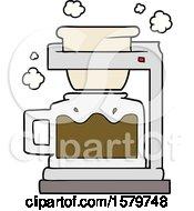 Cartoon Coffee Pot