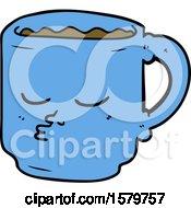 Poster, Art Print Of Cartoon Coffee Mug